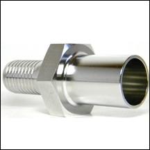 tube stub for teflon hose